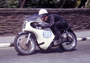 Mervyn Wright (Norton) 1965 Junior TT