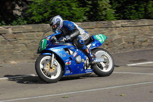 Michael Jones (Yamaha) 2009 Ultra Lightweight Manx Grand Prix