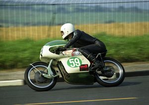 Mick Partridge (Greeves) 1971 Lightweight Manx Grand Prix