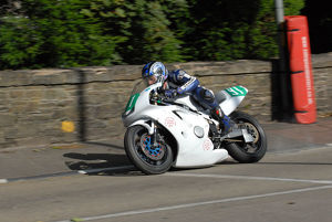 Mike Ellis (Kawasaki) 2009 Ultra Lightweight Manx Grand Prix