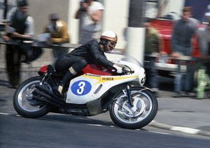 Mike Hailwood leaves Ramsey: 1967 Junior TT