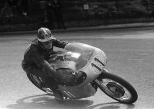 Mike Hailwood (Norton) 1958 Junior TT