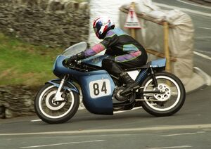 Neil Townshend (AJS Seeley) 1996 Junior Classic Manx Grand Prix