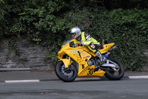 Neil Vicars (Honda) 2009 Senior Manx Grand Prix
