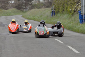 Nick Crowe & Mark Cox (HM Plant Honda) and Dave Molyneux & Dan S