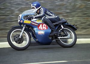 Nigel Rollason (BSA) 1973 Production TT