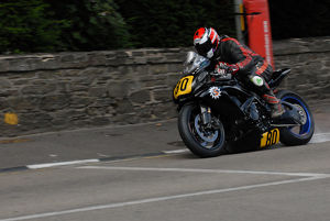 Nigel-Sean Rea (Suzuki) 2009 Senior Manx Grand Prix