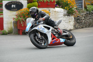 Patrick Woodside (Suzuki) 2009 Junior Manx Grand Prix