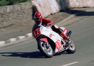 Pete Searle (Honda) 1987 Newcomers Manx Grand Prix