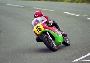 Pete Wakefield (Cowles Matchless) 2000 Senior Classic Manx Grand Prix