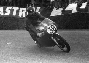 Peter Pawson (Norton) 1958 Senior TT