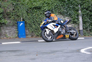 Peter Simpson (Suzuki) 2009 Senior Manx Grand Prix