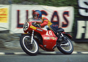 Phil Gurner (BSA) 1974 Production TT