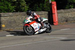 Phil Harvey (Honda) 2009 Lightweight Manx Grand Prix