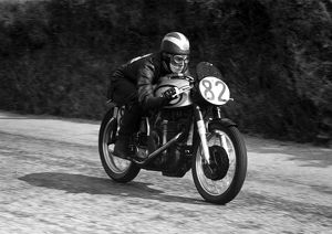 Phil Read (Norton) 1959 Junior Manx Grand Prix