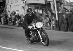 Ray Fay (Norton) 1957 Junior TT