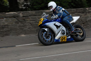 Bill Rice (Yamaha) 2009 Senior Manx Grand Prix