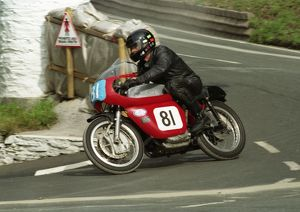 Rich Bool (Ducati) 1996 Junior Classic Manx Grand Prix