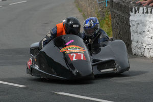 Richard Ellis & William Moralee (GLR Honda) 2009 Southern 100