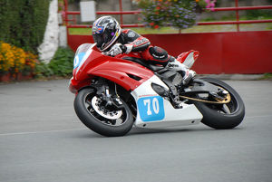 Robert Knight (Yamaha) 2009 Junior Manx Grand Prix