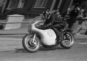 Bill Roberton (AJS) 1959 Junior TT