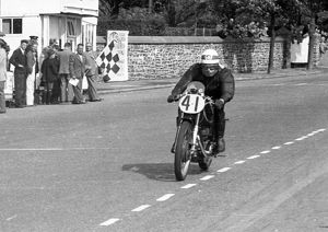 Robin Sherry (Matchless) 1951 Senior Manx Grand Prix
