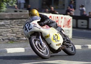 Ronnie Bryant (Lund Matchless) 1973 Senior Manx Grand Prix
