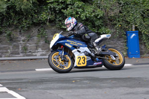 Ross Johnson (Yamaha) 2009 Senior Manx Grand Prix