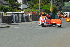 Roy Hanks & Kevin Perry (Molyneux Rose Suzuki) 2014 Southern 100