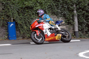 Ryan Kneen (Honda) 2009 Senior Manx Grand Prix