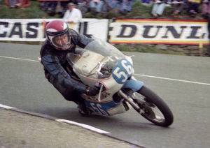 Sam McClements (Fowler Yamaha) 1976 Junior TT