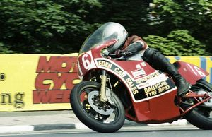 Sam McClements (Suzuki) 1982 Formula One TT
