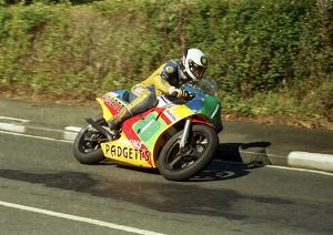 Sean Collister (Honda) 1987 Lightweight Manx Grand Prix