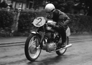 Bill Spence (NSU) 1955 Lightweight TT