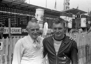 Stan & Mike Hailwood 1958 TT