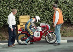 Steve Ruth (Aermacchi) 1996 Junior Classic Manx Grand Prix