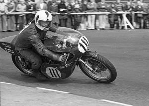 Terry McKane (Marriott Yamaha) 1975 Senior Manx Grand Prix