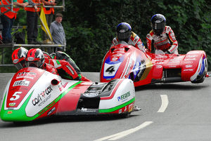 Tim Reeves & Mark Wilkes (Honda) and Alan Founds & Jake Lowther