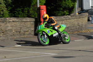 Tim Sayers (Kawasaki) 2009 Ultra Lightweight Manx Grand Prix