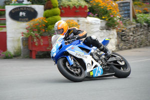 Tim Sayers (Suzuki) 2009 Junior Manx Grand Prix