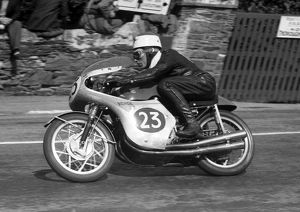 Tom Phillis (Honda) 1960 Lightweight TT