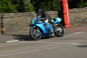Tony Davies (Yamaha) 2009 Ultra Lightweight Manx Grand Prix