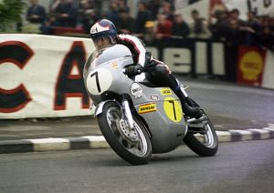 Tony Jefferies (Seeley Matchless) 1971 Senior TT