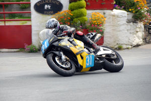 Tony Oates (Honda) 2009 Junior Manx Grand Prix