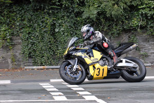 Tony Oates (Honda) 2009 Senior Manx Grand Prix