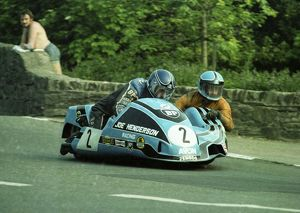 Trevor Ireson at Union Mills: 1982 Sidecar Race A